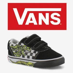 Vans Ward V Dino Bonez Sneakers - Toddler Size 6